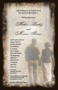 Custom Wedding Invitation